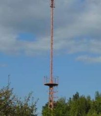 warsaw radio mast 2
